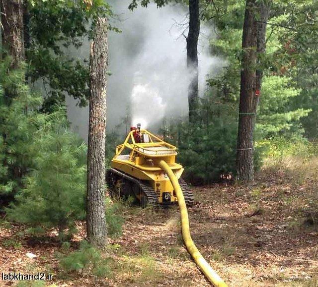 فناوریهای مورد استفاده برای آتشنشانی در دنیا