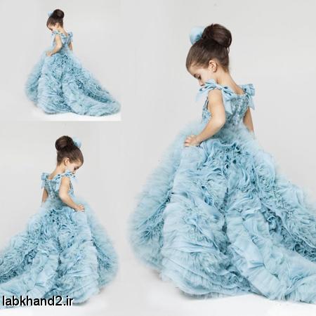 لباس مجلسی دخترانه جدید