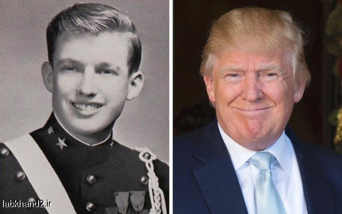 تصاویر قبل و بعد از معروف شدن اشخاص معروف جهان