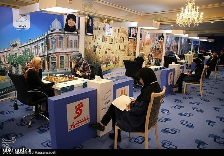 شروع مسابقات قهرمانی شطرنج بانوان جهان در تهران با تصاویر