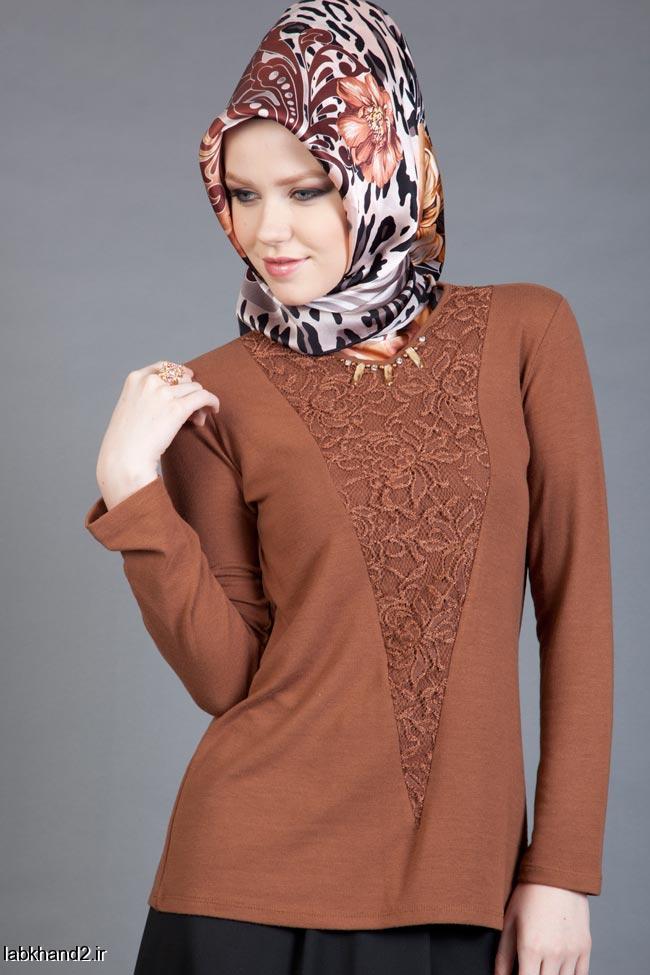 مدل پیراهن زیبا و بلوز های زنانه جدید